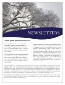 Blank Templates-Fall Newsletter