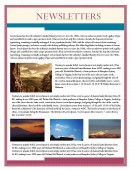 Blank Templates-Nature Theme Newsletter