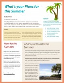 Event Templates-Summer Newsletter