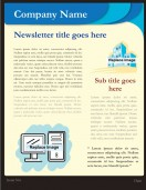 Office Templates-Office Newsletter