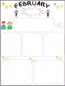 School Templates-Newsletters for February