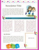 School Templates-Classroom Newsletter Template
