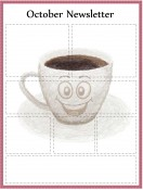 Special Templates-October Newsletter - Coffee Theme