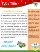 Special Templates-Christmas Newsletter Template