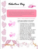 Special Templates-Valentine Newsletters