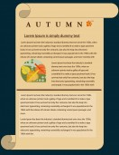 Special Templates-Autumn Newsletter Template