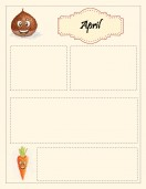 Special Templates-April Newsletter Template