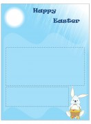 Special Templates-Easter Holiday Newsletter