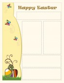 Special Templates-Easter Holiday Newsletter - Yellow Theme