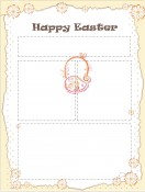 Special Templates-Happy Easter Newsletter Template