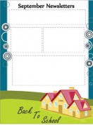 Special Templates-September Newsletter -House Theme